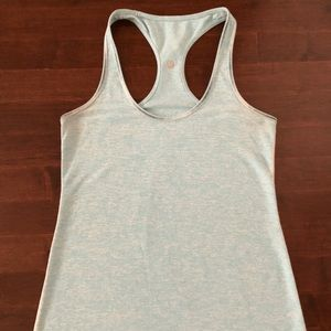 Lululemon Cool Racerback Tank in Turquoise